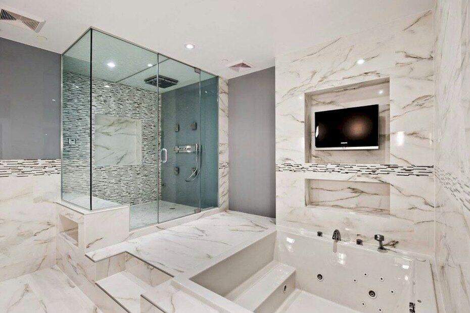 ¿Cómo proteger un baño con superficies de mármol o piedra natural?