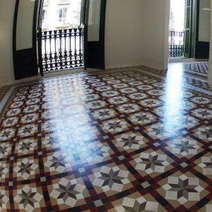 Pulir mosaico Nolla