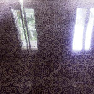 Pulido suelo mosaico